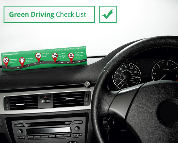 Green driving - download your drivers check list
