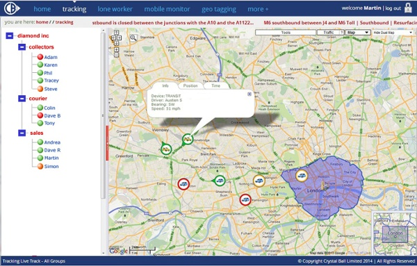 Mobile Tracking Mapped Device Info