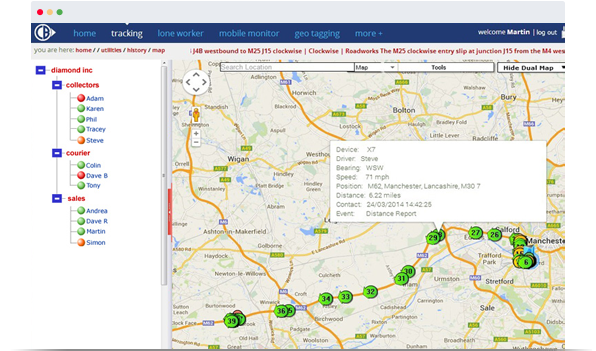 field service management map view