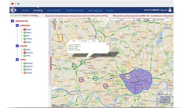 Mobile Phone Tracking Real-time Locations