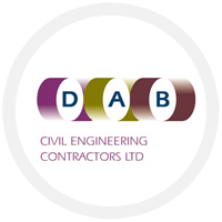 DAB civil engineering Logo