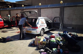 car searched mongol rally