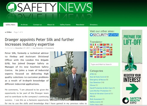 safety news article