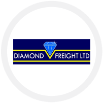 Diamond freight logo
