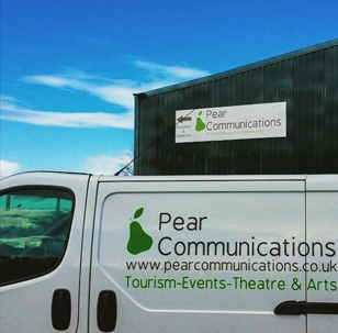 Pear communications van