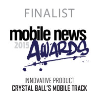 Mobile News 2015 Finalist Award Badge