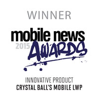 Mobile News 2015 Winner Award Badge