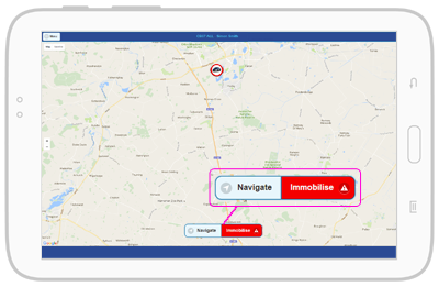 Manager App Immobilise Vehicle