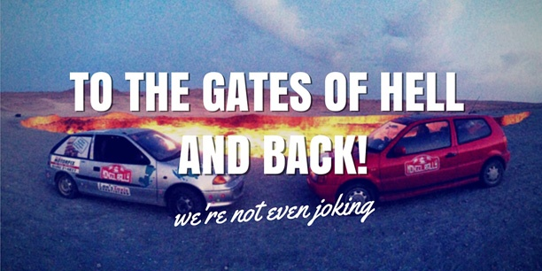 Mongol Rally To the Gate of Hell
