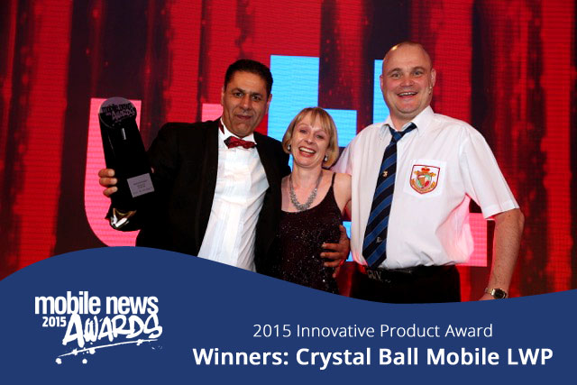 Official Winners Picture - Raj holding award
