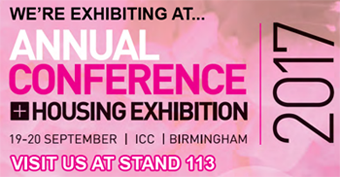 Crystal Ball exhibiting at the Annual Conference Housing Exhibition