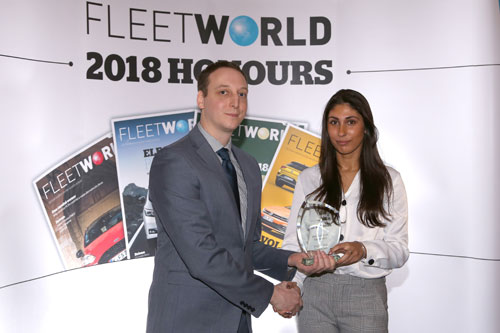 """Crystal Ball's comprehensive fleet tracking and 3G HD video solution scoops a second Fleet World Honour for """"Innovation in Telematics"""""""