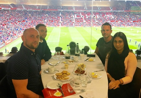 Despite the frustrating 0-0 draw at Old Trafford on Saturday, an entertaining day was had at The Executive Club