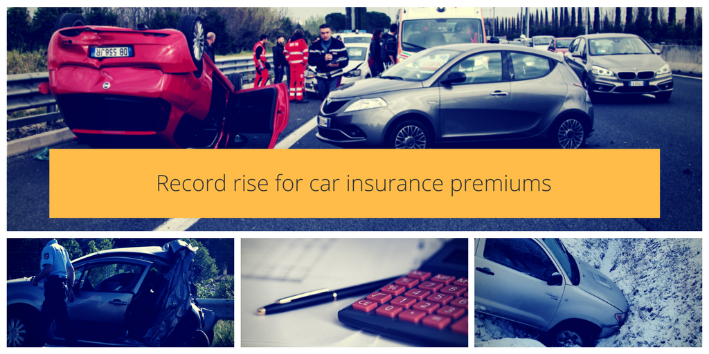 Record rise for car insurance premiums