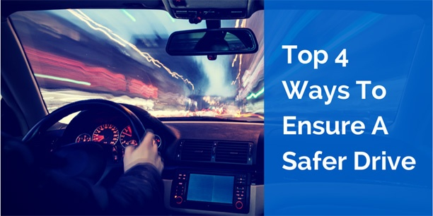 Top 4 Ways to Ensure Safer Driving for Your Employees