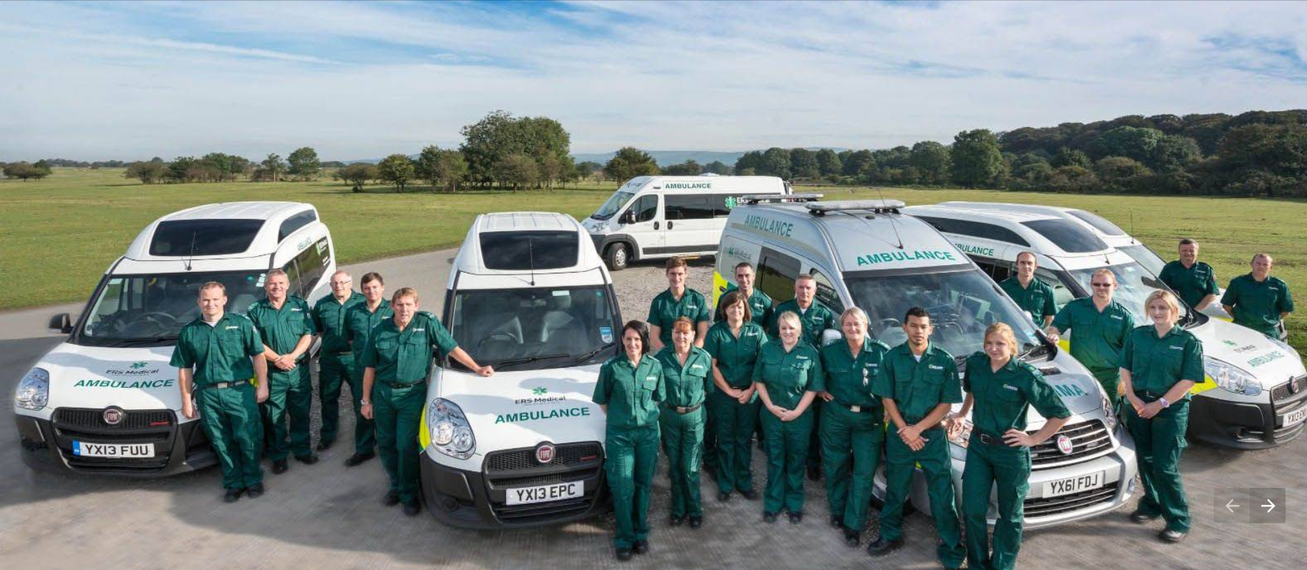 Ambulance service uses Crystal Ball SmartCam to coach drivers and keep patients safe